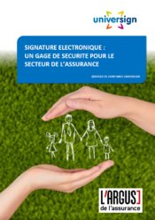 livre assurance - signature electronique - Universign
