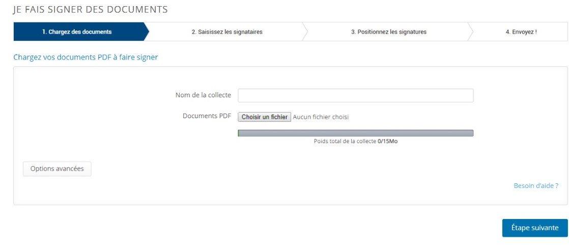 Etape 1 - Signez électroniquement un document PDF
