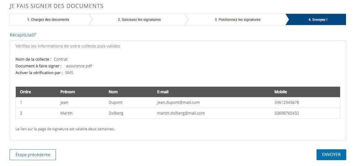 Etape 4 - Signez électroniquement un document PDF