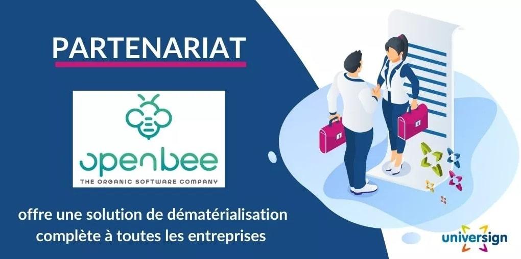 partenariat openbee